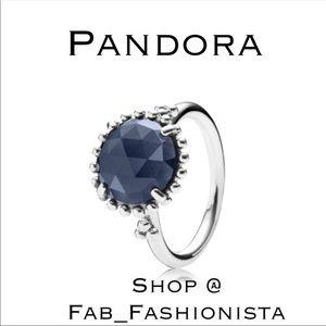 Pandora Sapphire Sterling Silver Stacking ring